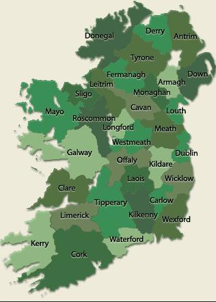 Map Of Ireland 32.Viska Ezine Update March 2019 Ireland Qqi